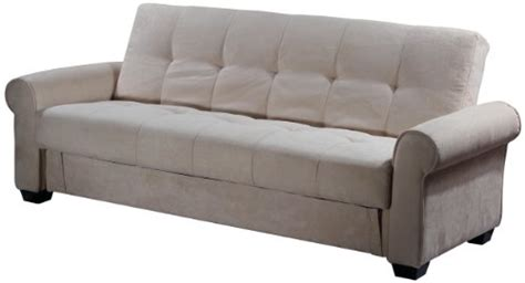 Abbyson Living Bedford Gray Linen Convertible Sleeper Sectional Sofa by Abbyson Living Sleepersofashop
