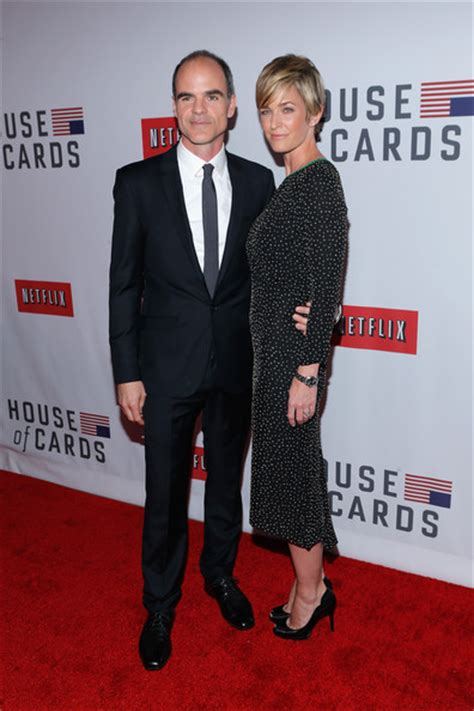 house of cards wife michael kelly pictures netflix s quot house of cards quot new york premiere arrivals zimbio