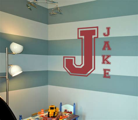 letter wall decals for rooms varsity letters monogram wall decals trading phrases