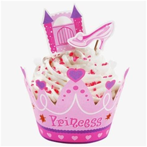 Cupa Cake Stand Paper Sofia Pink princess cakes and cupcakes
