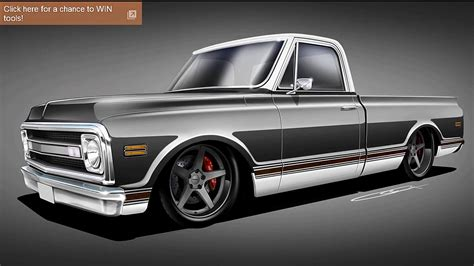 Frontier Sweepstakes Machines - craftsman restoration rollout roadster shop 1969 chevrolet c 10 truckin