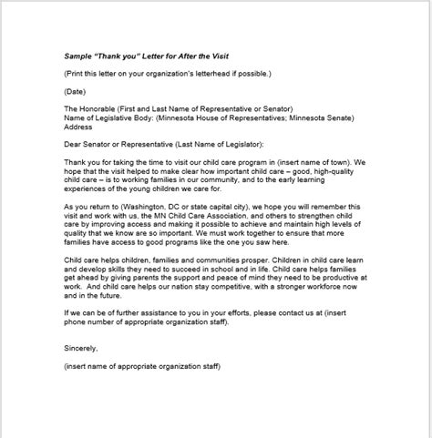 thank you letter sle microsoft word 28 free sle thank you letters ms word and pdfs