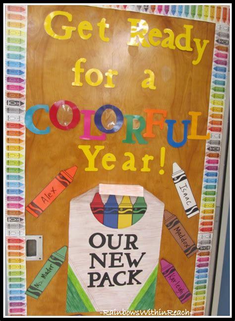 new school year bulletin board ideas www rainbowswithinreach