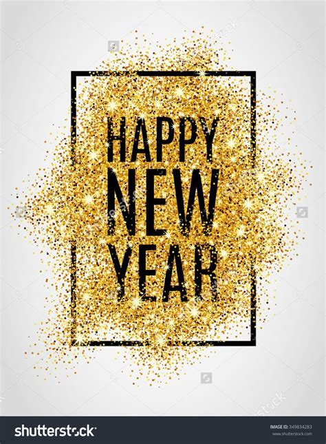 new year gold happy new year gold glitter new year gold background