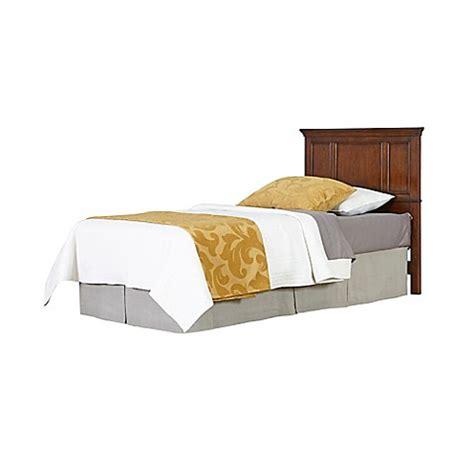 bed bath and beyond chesapeake home styles chesapeake twin headboard in cherry bed bath