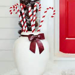 Candy Cane Outdoor Christmas Decorations Ideas