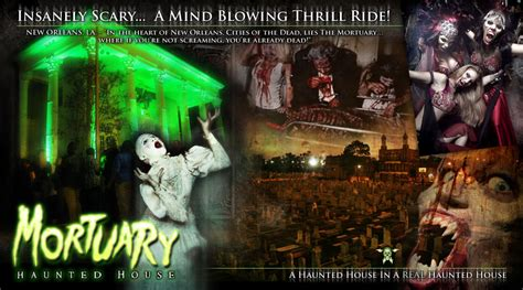 the mortuary haunted house haunted houses in new orleans louisiana the mortuary haunted house