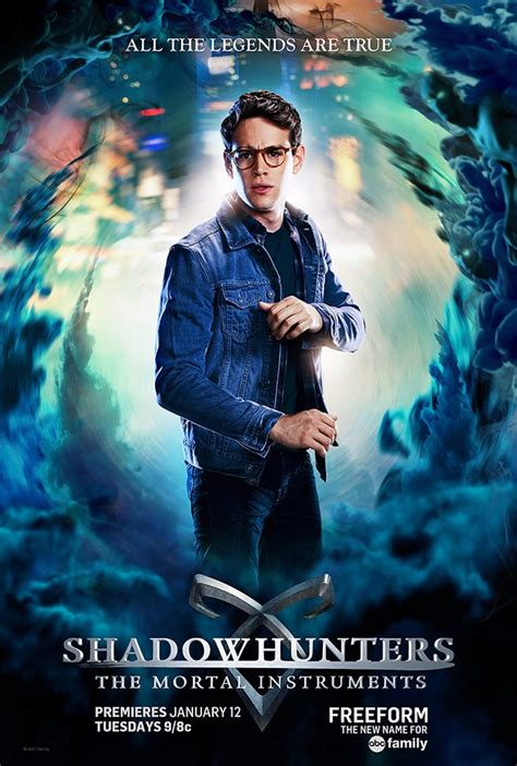 Shadows Hunters shadowhunters see the official character posters tmi