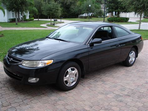 picture of 1999 toyota camry solara 2 dr se coupe exterior