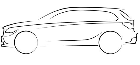 SUV outline