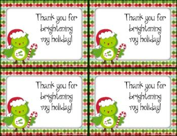 printable christmas cards to students free holiday christmas thank you cards also in spanish tpt