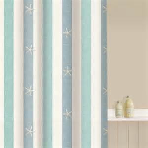 aqualona coastal stripe shower curtain achica