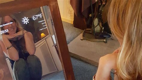 Magic Display Mirror Switches Between You And Would You by Build A Magic Mirror With A Raspberry Pi And An Monitor