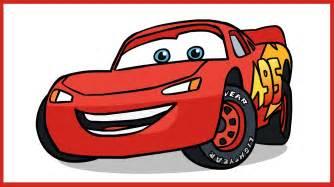 Lightning Mcqueen Drawing How To Draw Lightning Mcqueen Cars Disney Pixar