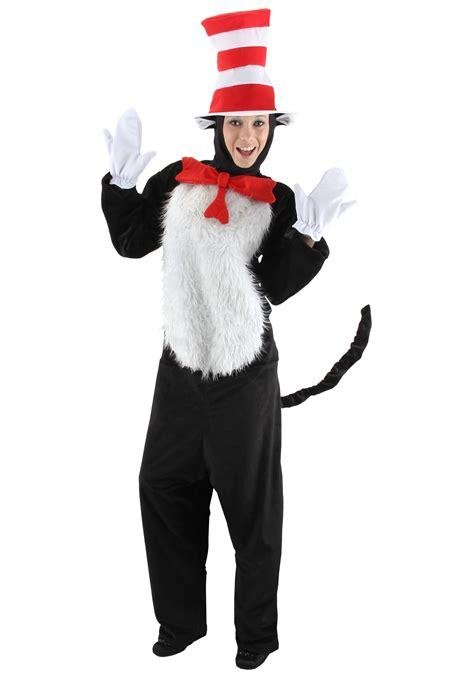deluxe cat in the hat costume