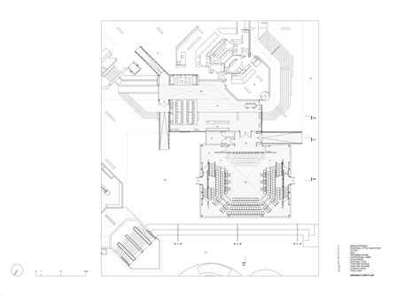 national theatre floor plan haworth tompkins gives london s national theatre a signal
