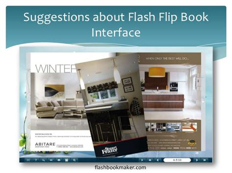 tutorial flash flip book some suggestions about flash flip book interface