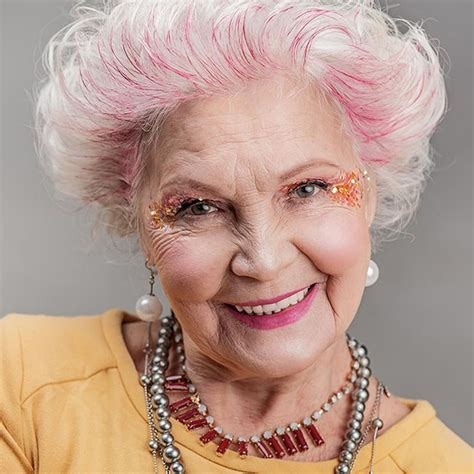 older women with pink hair older women s short hairstyles and hair colors for 2019