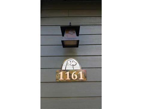 smw461 custom metal house sign labrador sunriver