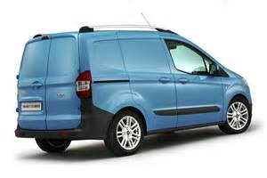 Ford Transit Minivan Ford Transit At The Commercial Vehicles Show