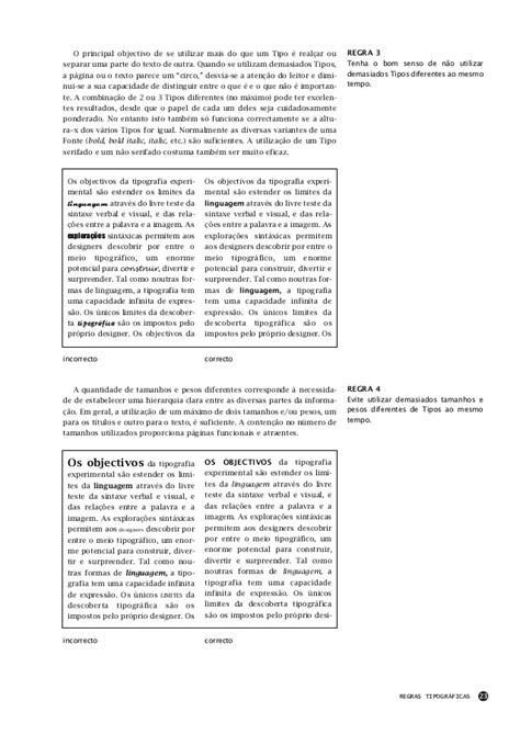 Guia de tipos - Tipografia