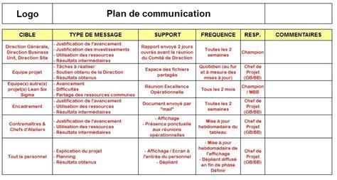 Modèle Plan D Projet