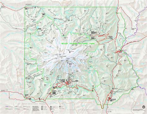 mt rainier national park map original file 3 260 215 2 531 pixels file size 739 kb