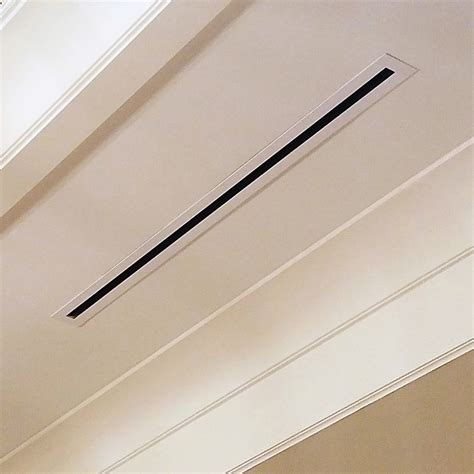 Ceiling Slot Diffuser by Grille Exles