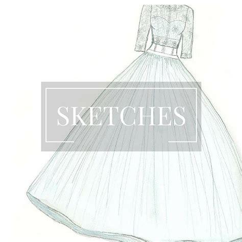 Custom Wedding Gowns by Custom Bridal Gown Illustration Wedding Dress Sketch Www