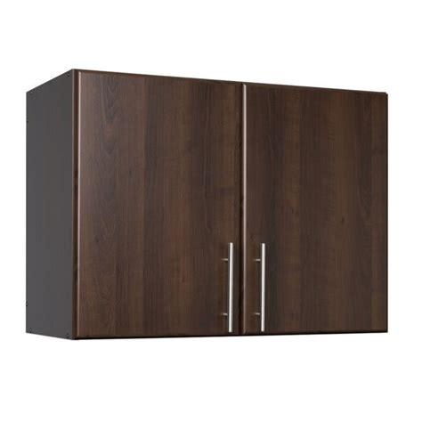 espresso elite 32 storage cabinet 32 quot stackable wall storage cabinet in espresso eew 3224