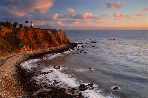 Point Vicente Sunset Point Vicente Lighthouse Palos Palos Verdes Lights