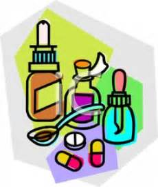 supplement vs medication pills and medication bottles royalty free clipart picture