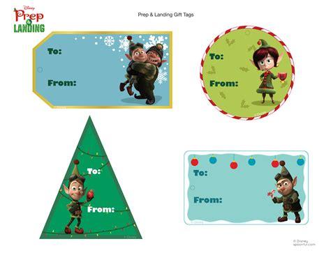 printable christmas tags disney prep landing gift tags disney family