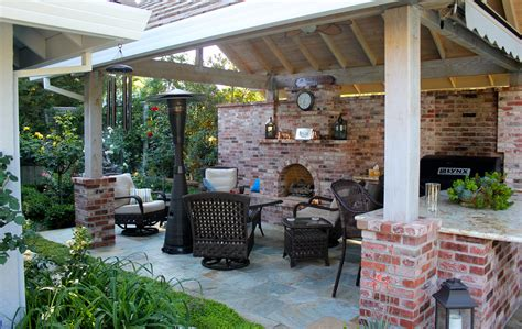 free standing covered entertainment area michael