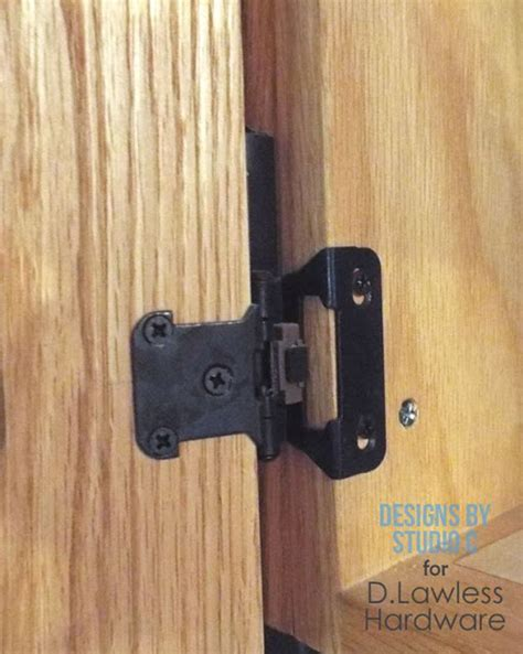 how to install hinges the d lawless hardware blog how to install partial wrap