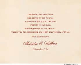 vintage 50th anniversary thank you cards custom