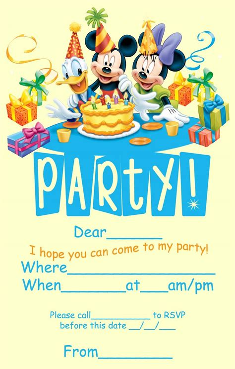 Ideas For A Perfect Disney Fairy Tale Themed Birthday Party Birthday Party Inspiration Disney Flyer Template