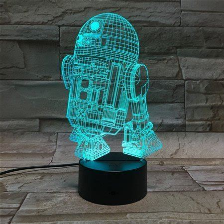 3D Optical Illusion Night Light   7 LED Color Changing