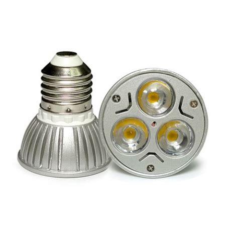 12 Volt Dc Led Light Bulbs Ac Dc 12v 12 Volt 3w 1w X 3 Cluster Led Light Bulb E26 E27 Par16 Socket L Pack Of 3