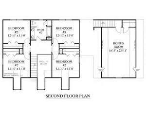 Marvelous House Plans With 2 Master Bedrooms Downstairs #3: PLAN-2341-B-2nd-flr.jpg