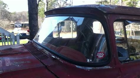 78 images about tv in front of window on pinterest 1957 60 ford f100 windshield front window seal install