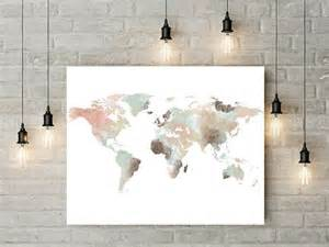 World Map Home Decor 1000 Fikir World Map Decor Te D 252 Nya Haritaları Seyahat Ve Yolculuk