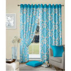 Transparent Shower Curtains Blue Abstract Pattern Damask Blackout Curtains India
