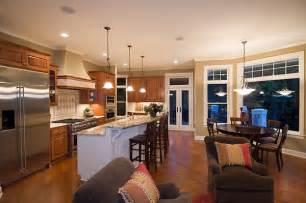 open floor plans for the kitchen are extremely popular today midsize country cottage house plan with layout great