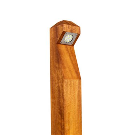 wooden solar lights exterior led lighting gemma lighting products
