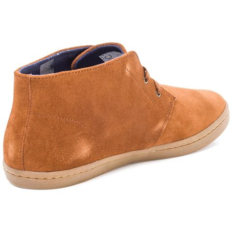 fred perry byron mid mens boots in