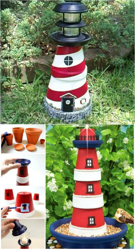 Decorative Lighthouses For In Home Use by 27 Decorative Terra Cotta Crafts To Beautify Your Outdoor