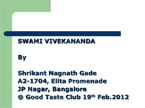 close validation messages success message swami vivekanandas message to youth ppt presentation 2015