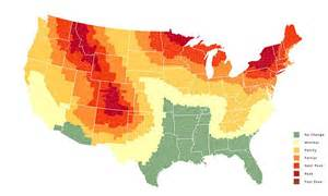 fall foliage prediction map shows when fall will arrive in