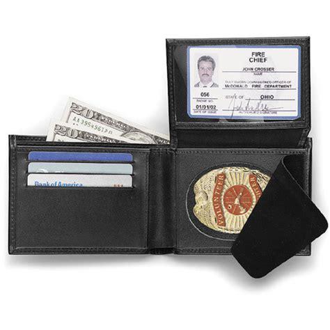galls custom hidden classic badge wallet